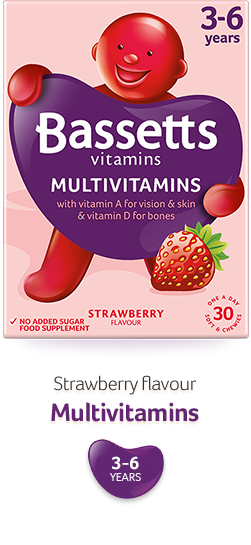 Strawberry flavour Multivitamins
