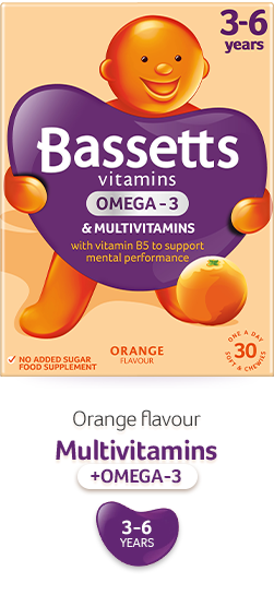 Orange flavour Multivitamins