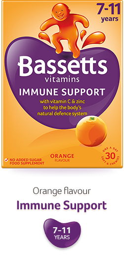 Orange flavour Immune Support