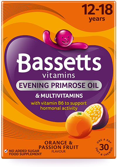 Orange and Passion Fruit flavour Multivitamins