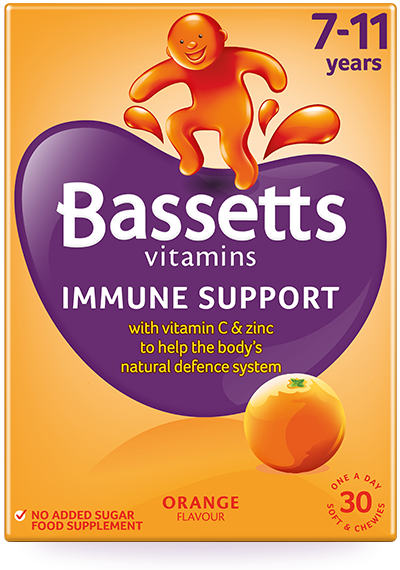 Orange flavour Multivitamins Immune Support