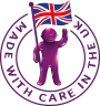 Made with care in the UK icon